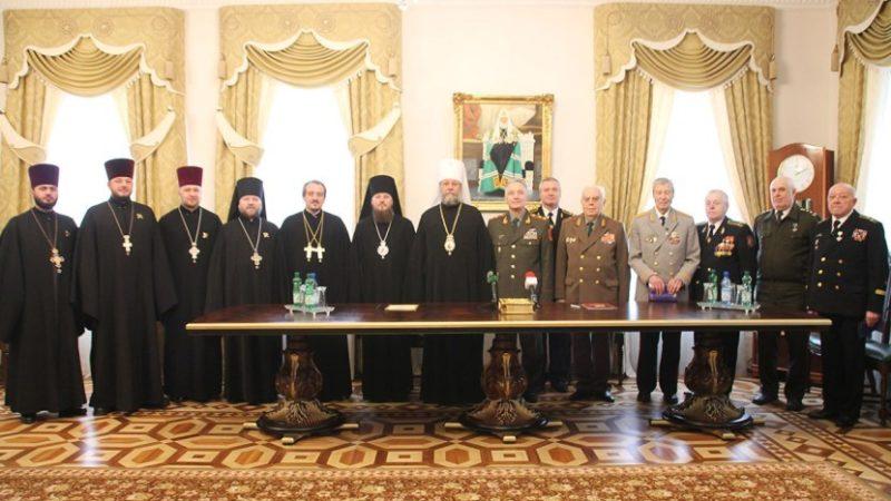 Состоялось подписание Соглашения о сотрудничестве между Молдавской митрополией и Союзом офицеров PМ