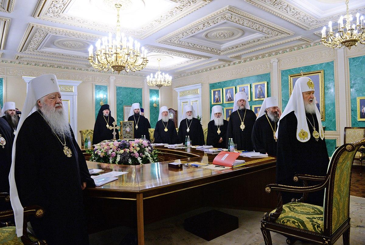 Священный Синод РПЦ сделал специальное заявление по ситуации на Украине