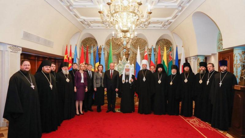Патриарх Московский и всея Руси Кирилл подтвердил намерение совершить в этом году пастырский визит в Гагаузию