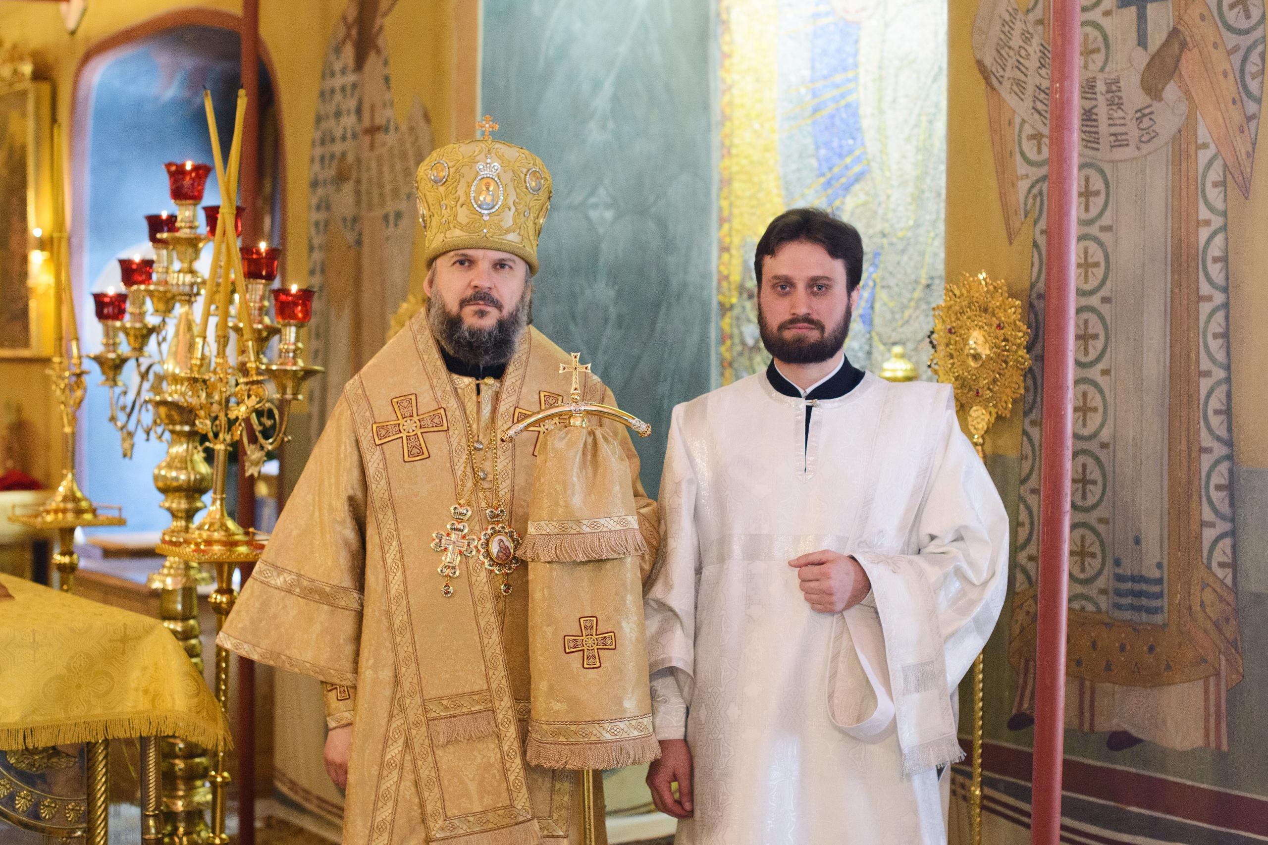 В Неделю о блудном сыне студент Московской Духовной Академии из Гагаузии рукоположен в сан диакона