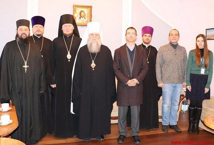 Архиереи Винницкой, Тульчинской и Житомирской епархий рассказали представителям ОБСЕ о дискриминации верующих Украинской Православной Церкви
