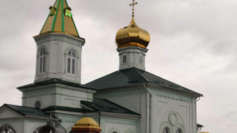 В Троицком храме села Джолтай отремонтировали кровлю
