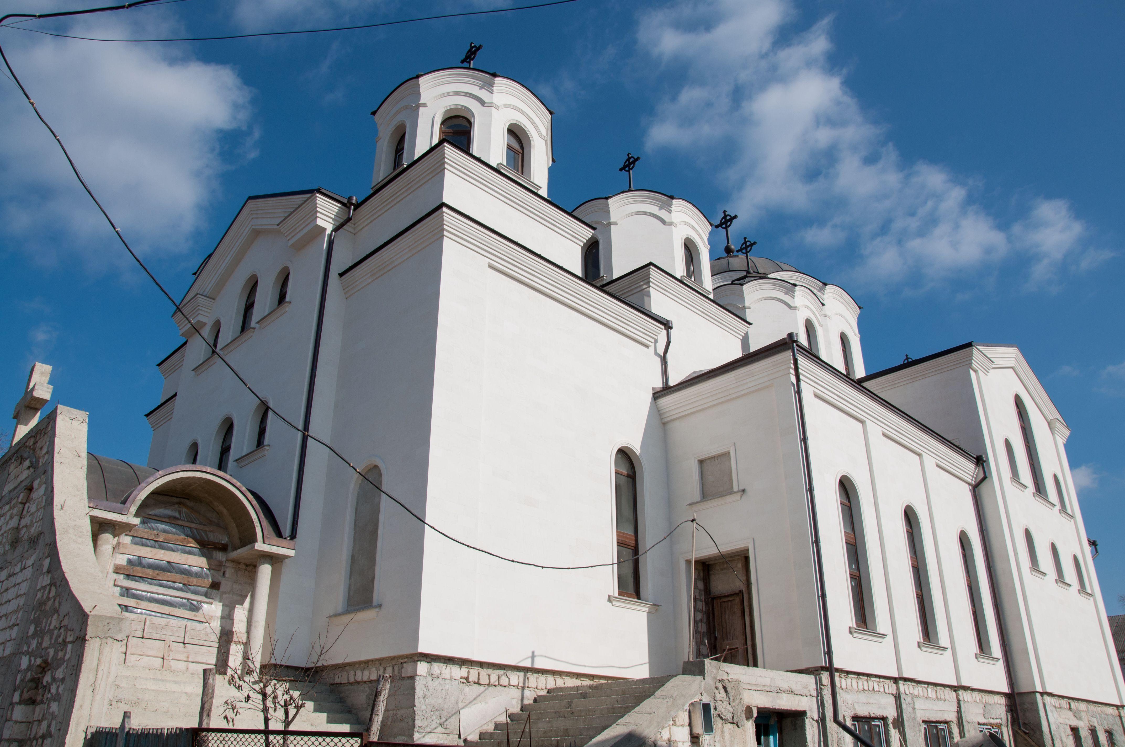 Храм строится там где есть православная вера. Церковь Копчак