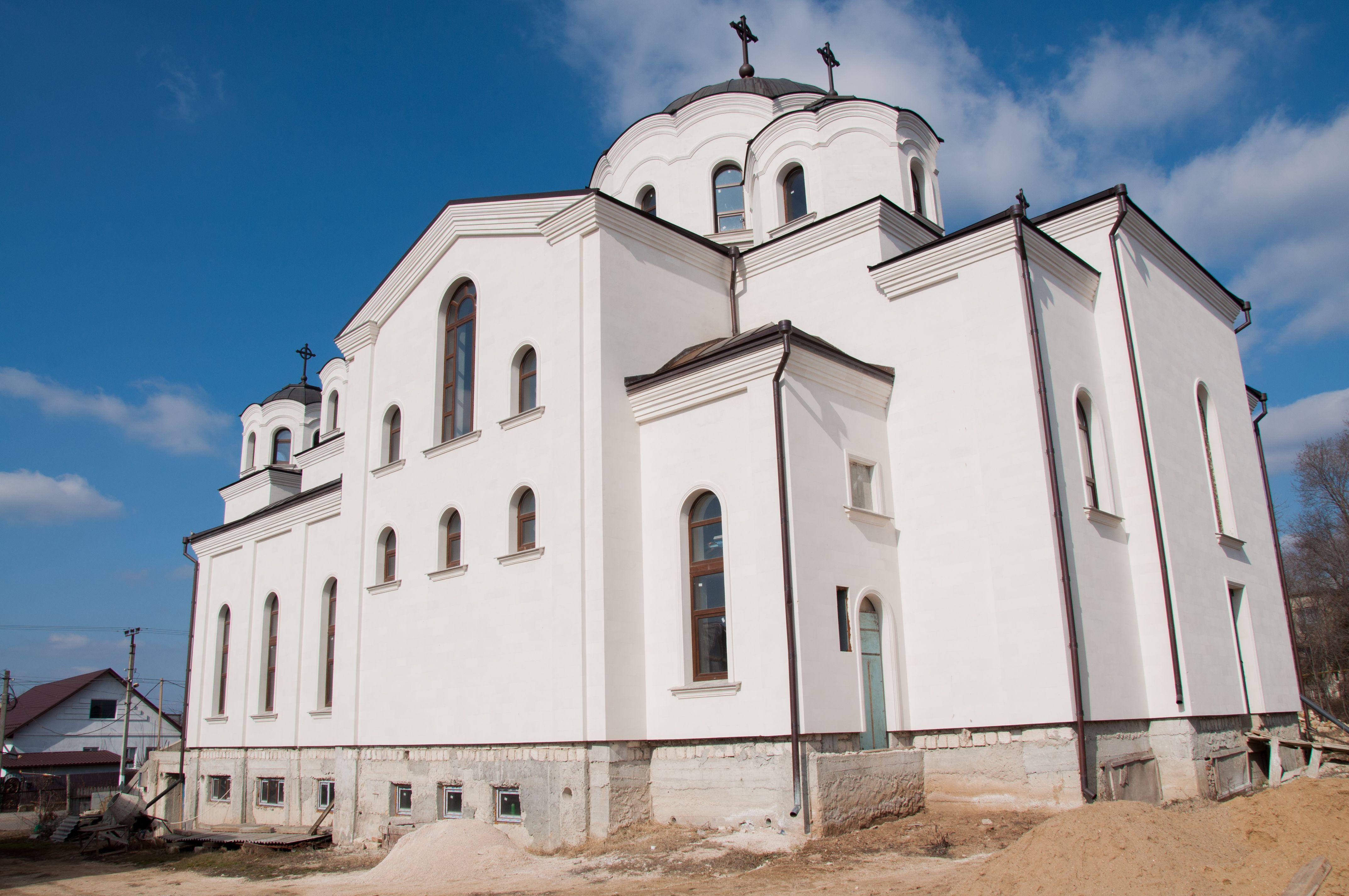 (Фото) Храм строится там где есть православная вера. Церковь Копчак