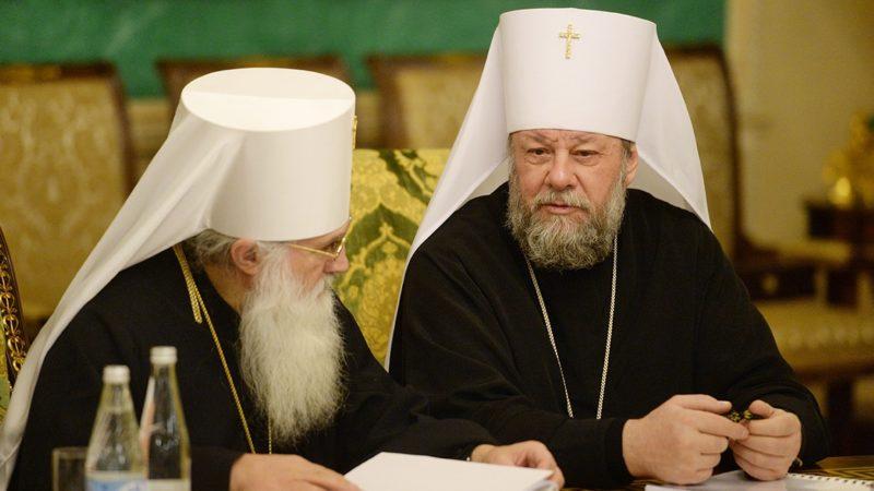 Митрополит Владимир принял участие в заседании Священного Синода РПЦ