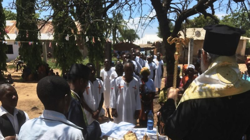Более 500 человек приняли православие в Танзании