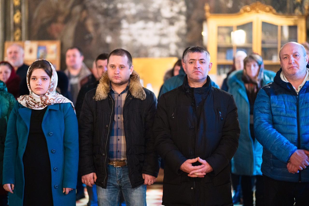 В селе Раменки Московской области прошла Литургия с участием гагаузов