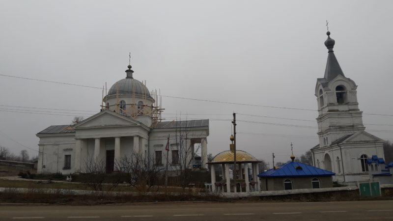 В Свято-Георгиевском храме села Казаклия начались ремонтные работы