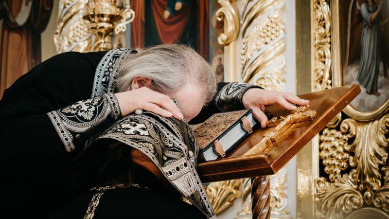2 декабря прошла общая исповедь духовенства Комратского благочиния