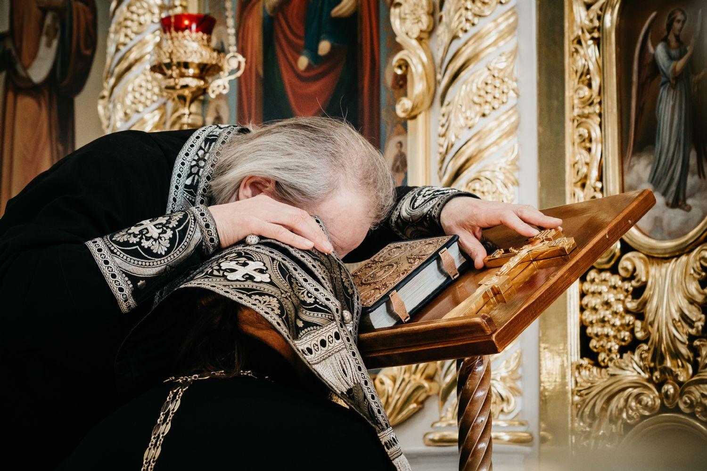 Состоялась общая исповедь духовенства Комратского благочиния