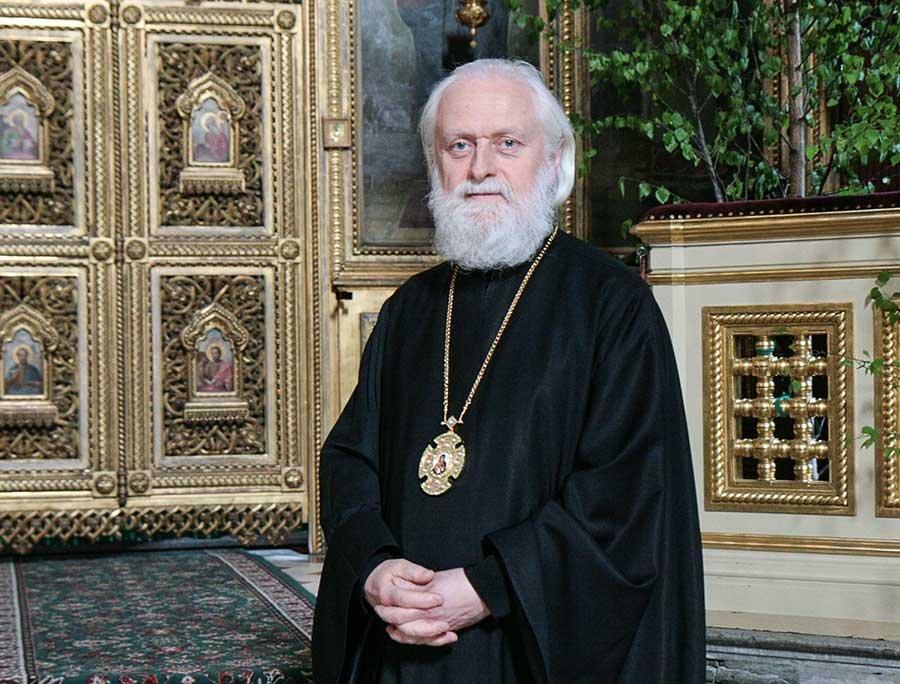 Митрополит Таллинский Евгений: Задача священника — понять, зачем человек зашел в храм