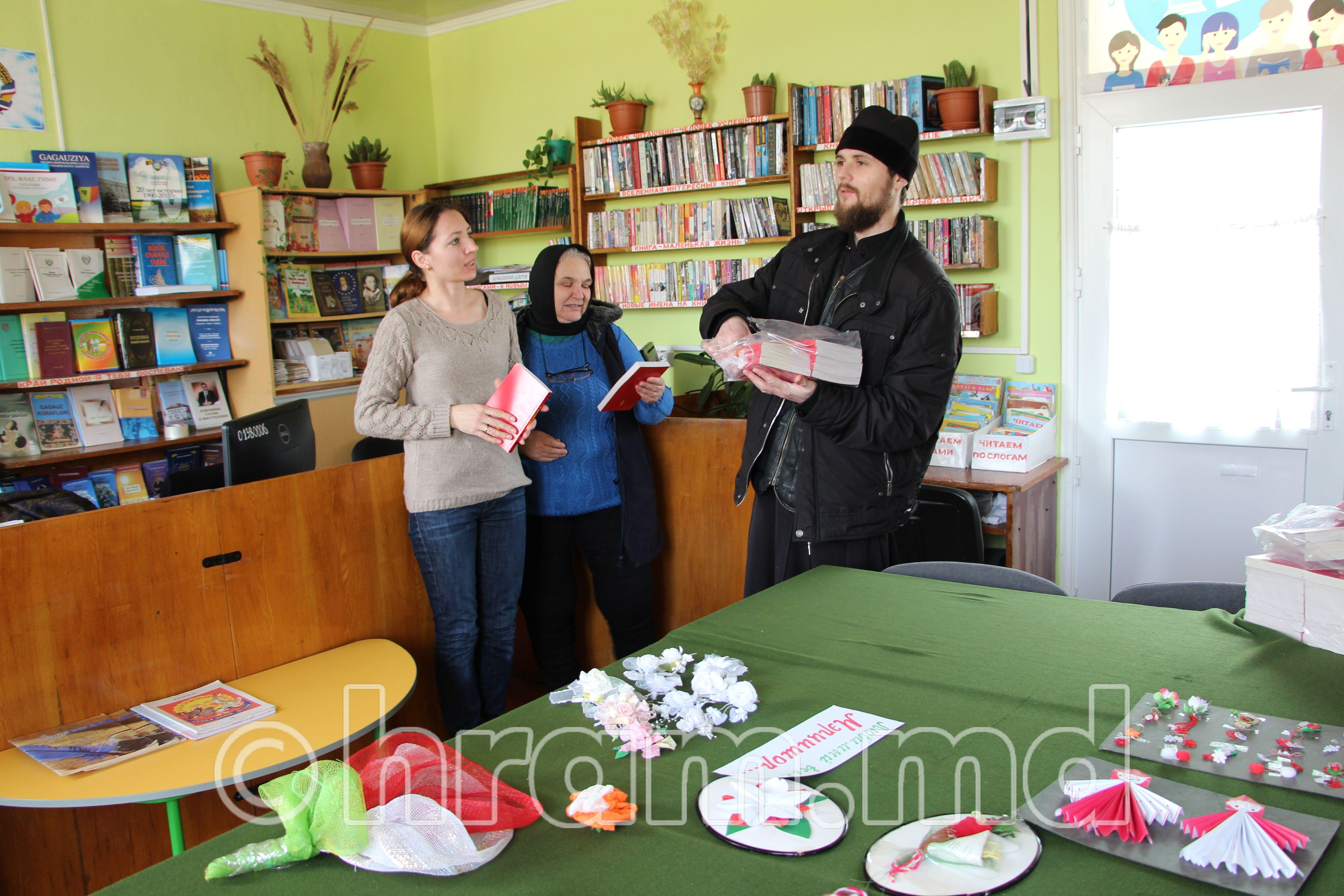 (ФОТО) В Чишмикиое прошла акция «Святое Евангелие в каждый дом»