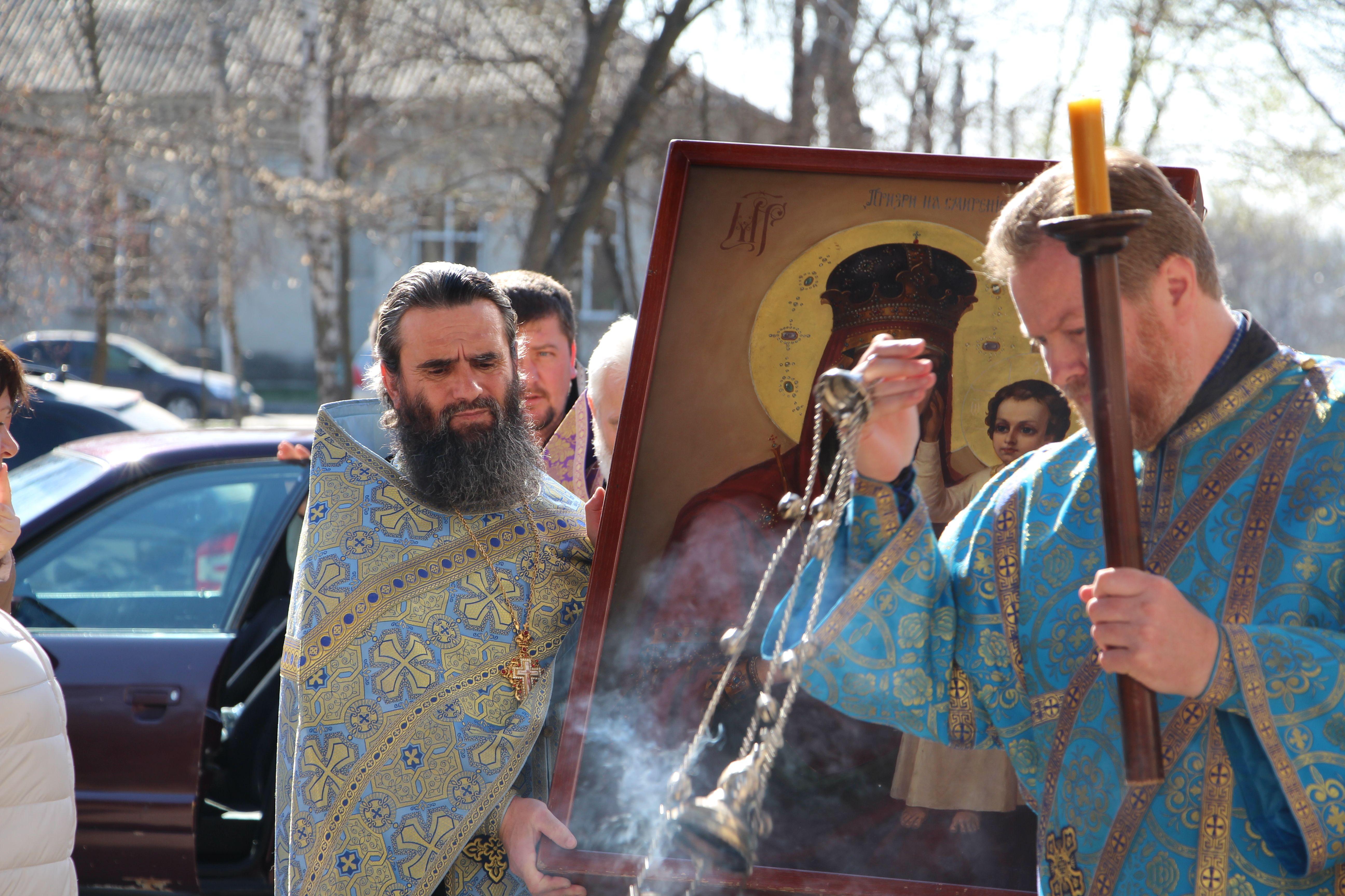 (LIVE) Встреча иконы Божией Матери «Призри на смирение» в Кафедральном соборе г. Кагул