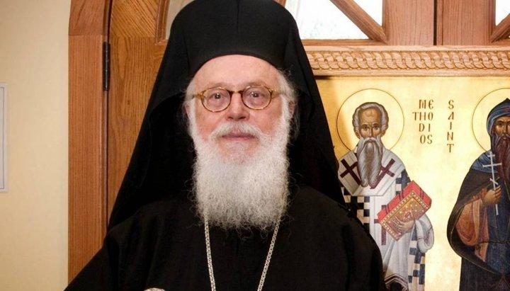 Официально: Албанская Православная Церковь не признает ПЦУ