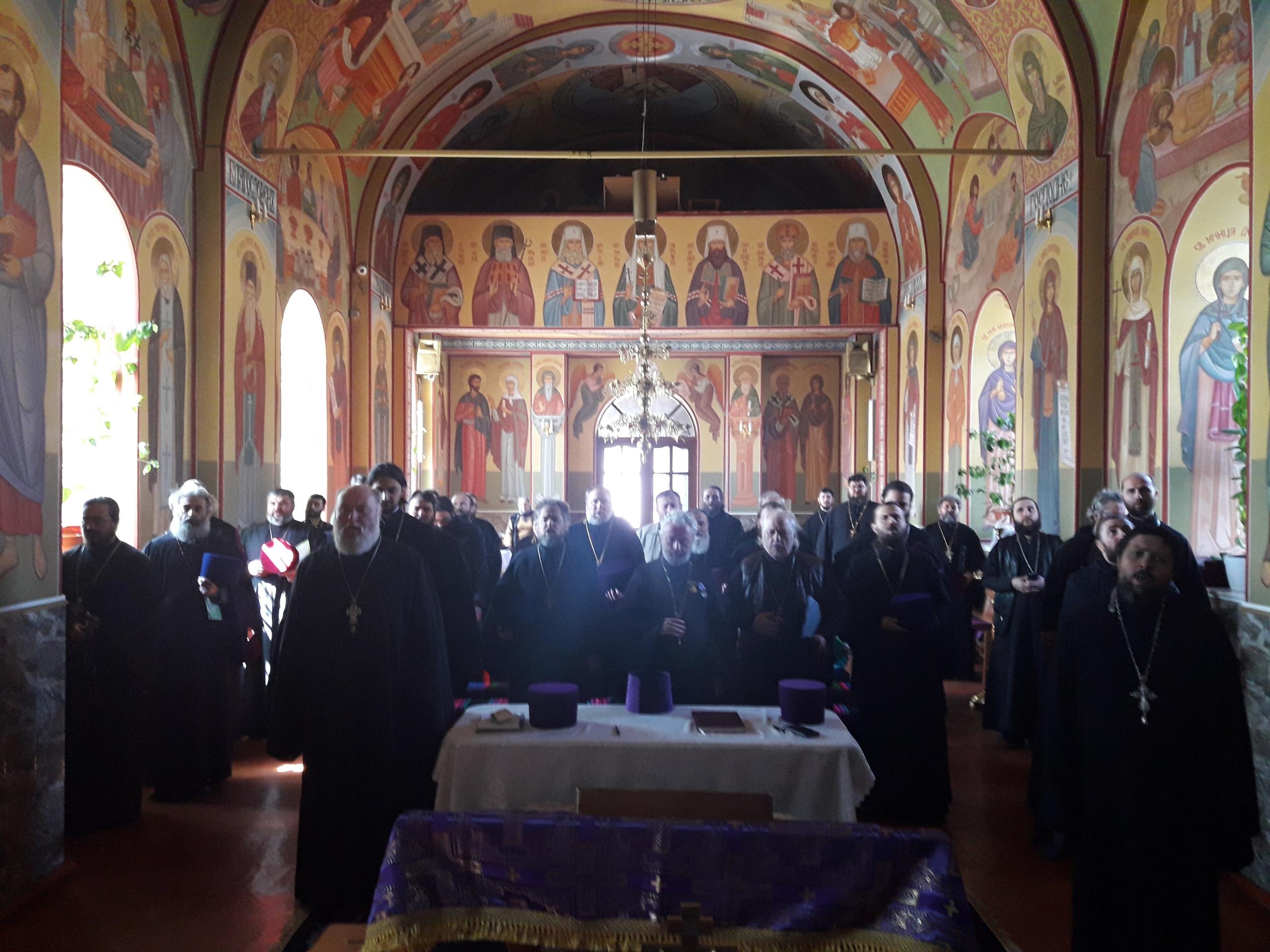 (ФОТО) Состоялось собрание духовенства Комратского благочиния