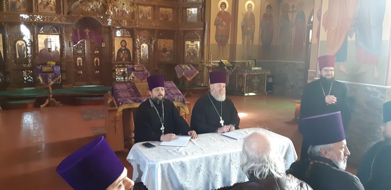 Состоялось собрание духовенства Комратского благочиния