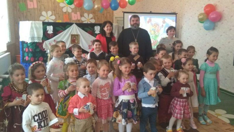 (ФОТО) В детском саду «Светлячок» в с. Будэй прошел праздник Пасхи