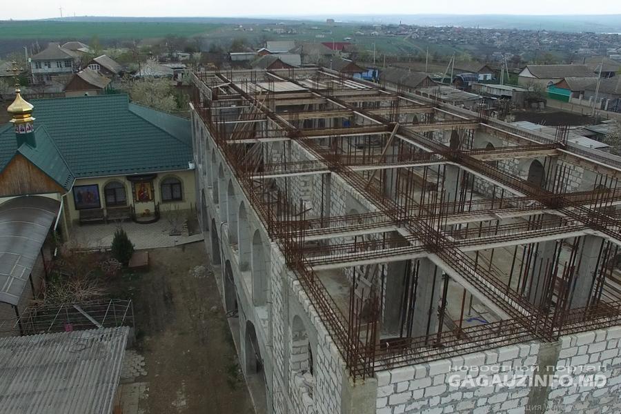 Игуменья Евфросинья  рассказала о ходе строительства монастыря  в Комрате