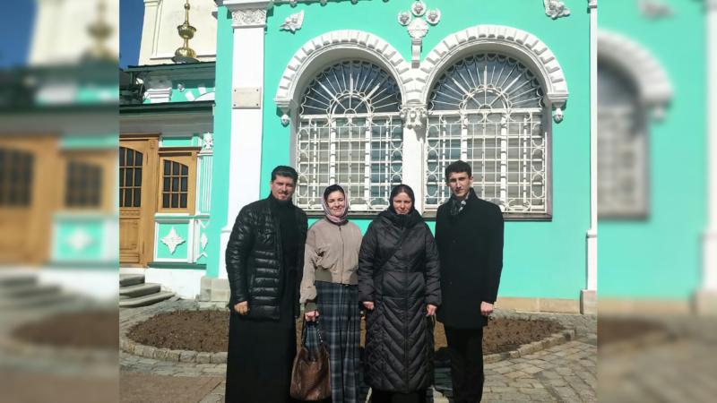 (ФОТО) Группа паломников из Гагаузии посетила Троице-Сергиевую лавру
