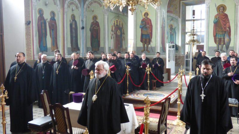 (ФОТО) 27 марта состоялось епархиальное собрание в Кагуле