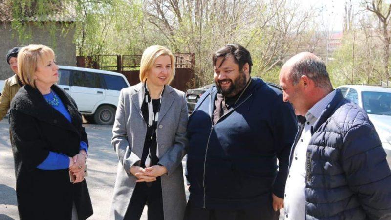 Башкан Гагаузии Ирина Влах посетила храм в Етулии