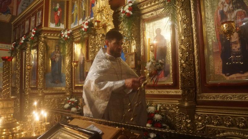 (ФОТО) Пасхальное богослужение в Свято-Дмитриевском монастыре мун. Чадыр-Лунга