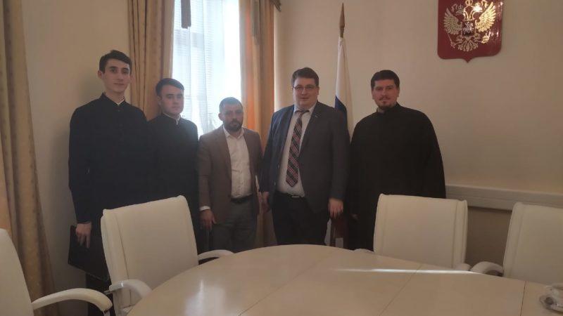 (ФОТО) Состоялась рабочая встреча организаторов проекта «Гагаузия Православная 2019» с руководителем Россотрудничества