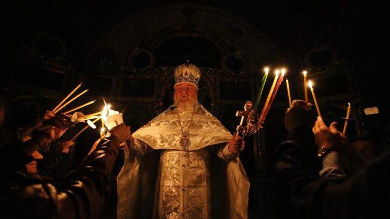 (ФОТО+ВИДЕО) Пасхальное богослужение в Церкви села Баурчи. Храм посетила глава автономии Ирина Влах