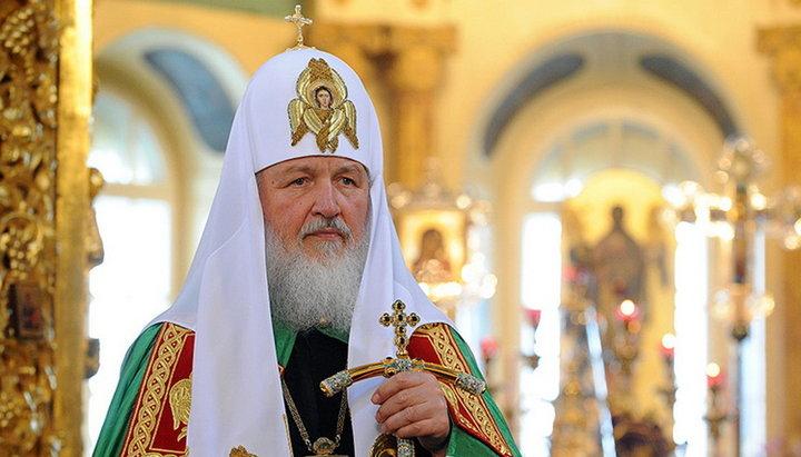 (ВИДЕО) Патриарх Кирилл призвал верующих воздержаться от посещения храмов