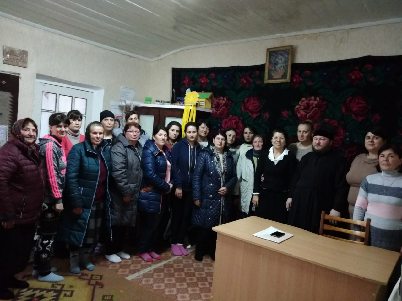 В детском саду Казаклии прошла встреча с родителями детей выпускников