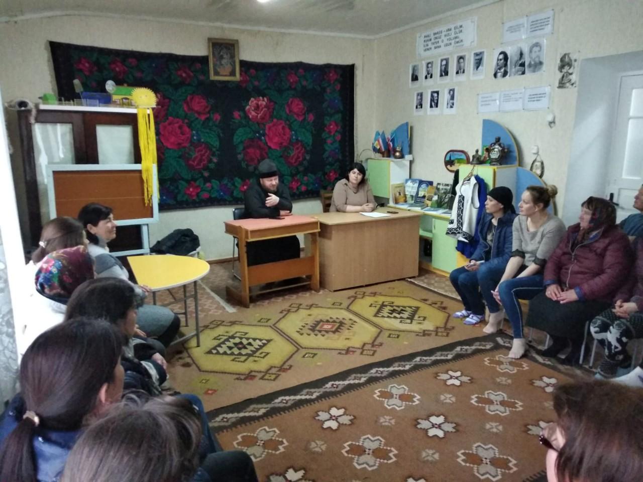 В детсаде Казаклии прошла встреча с родителями выпускников