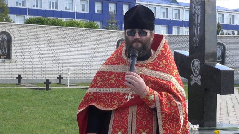 (ФОТО/ВИДЕО) Заупокойная лития в День Победы с. Авдарма