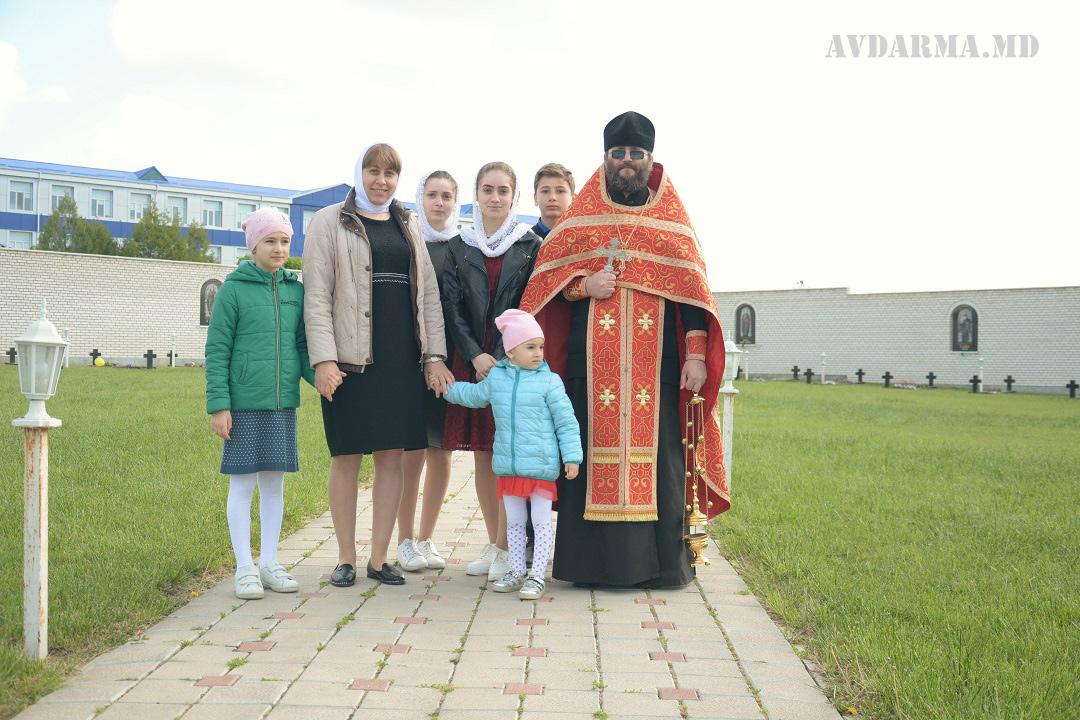 Заупокойная лития в День Победы с. Авдарма