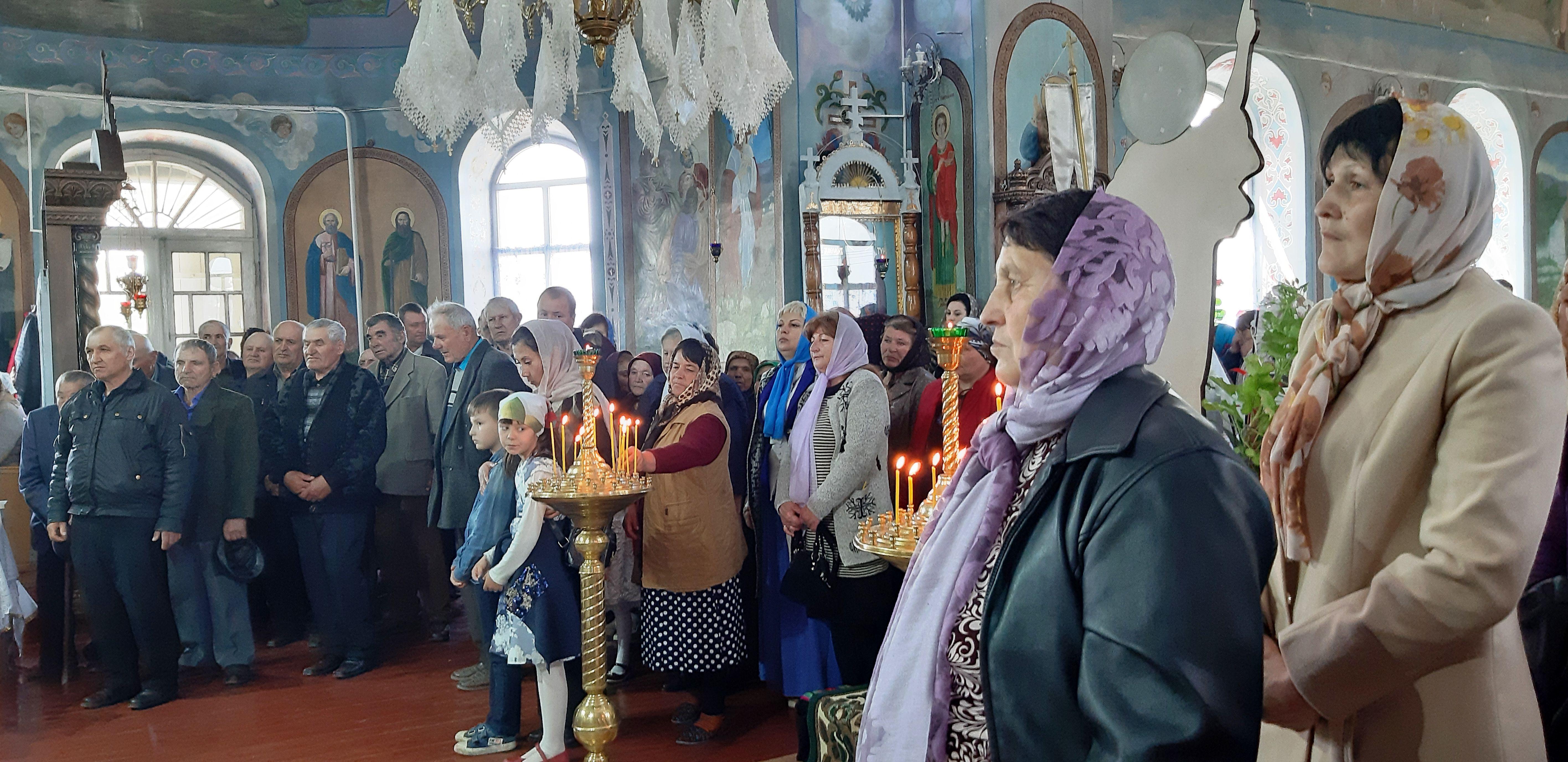 Престольный праздник отметил Свято-Георгиевский храм г. Тараклия