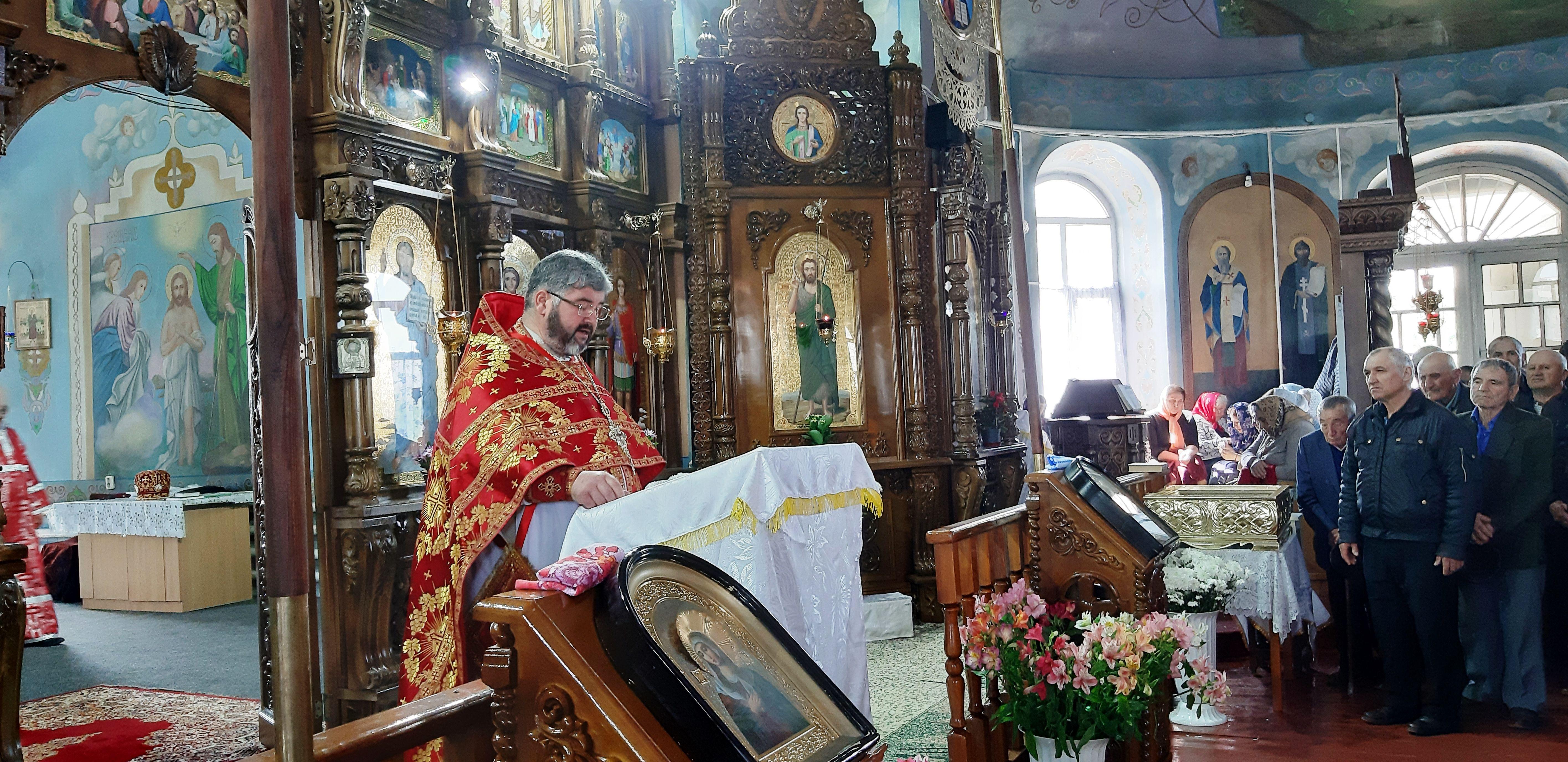 (ФОТО/ВИДЕО) Престольный праздник отметил Свято-Георгиевский храм г. Тараклия