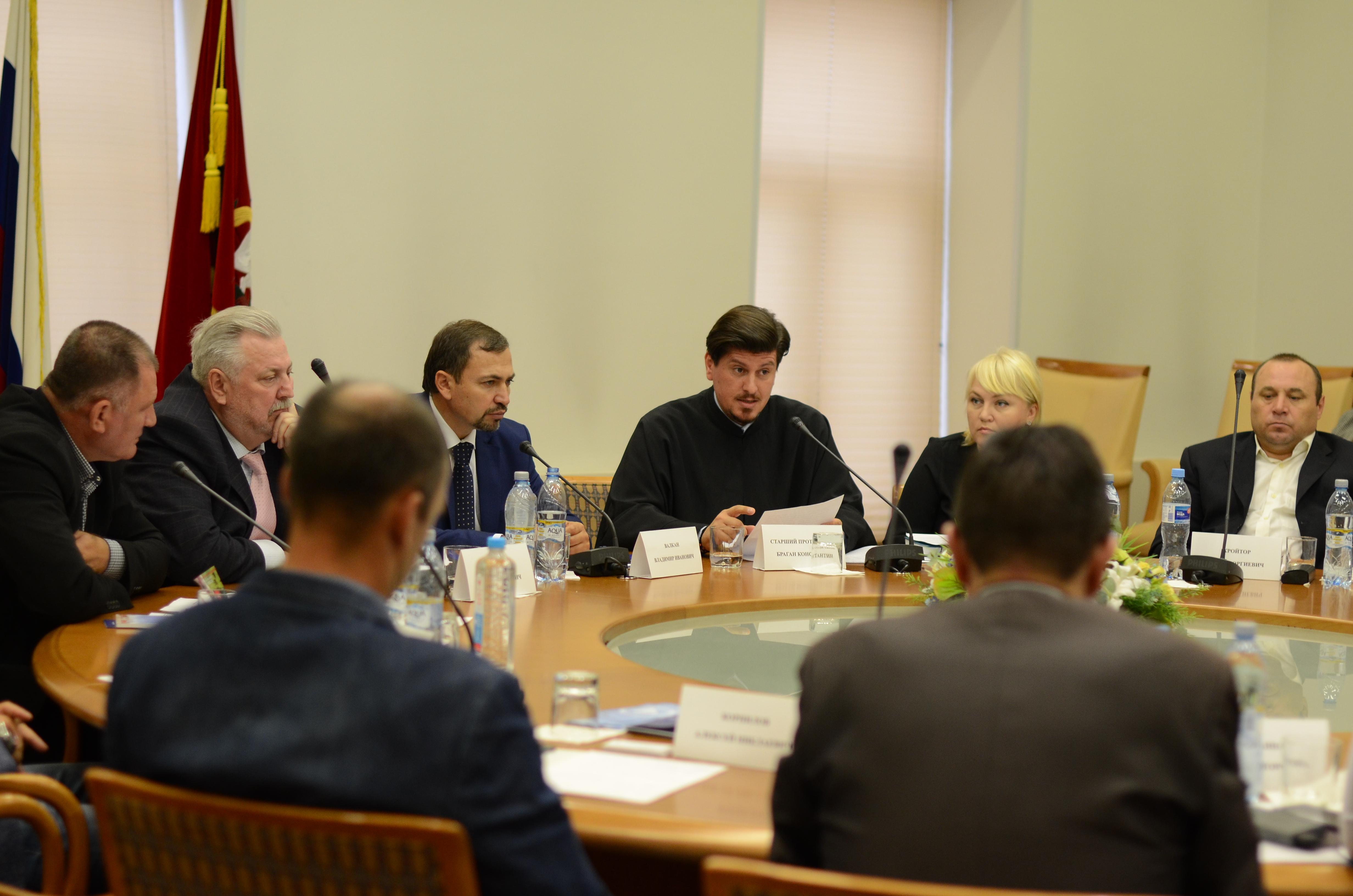 Протодиакон Константин Барган принял участие в съезде Союза Гагаузских предпринимателей России