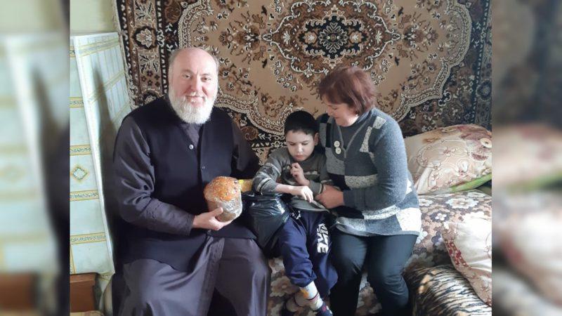 (ФОТО) В Баурчах прошла акция «Пасхальная радость»