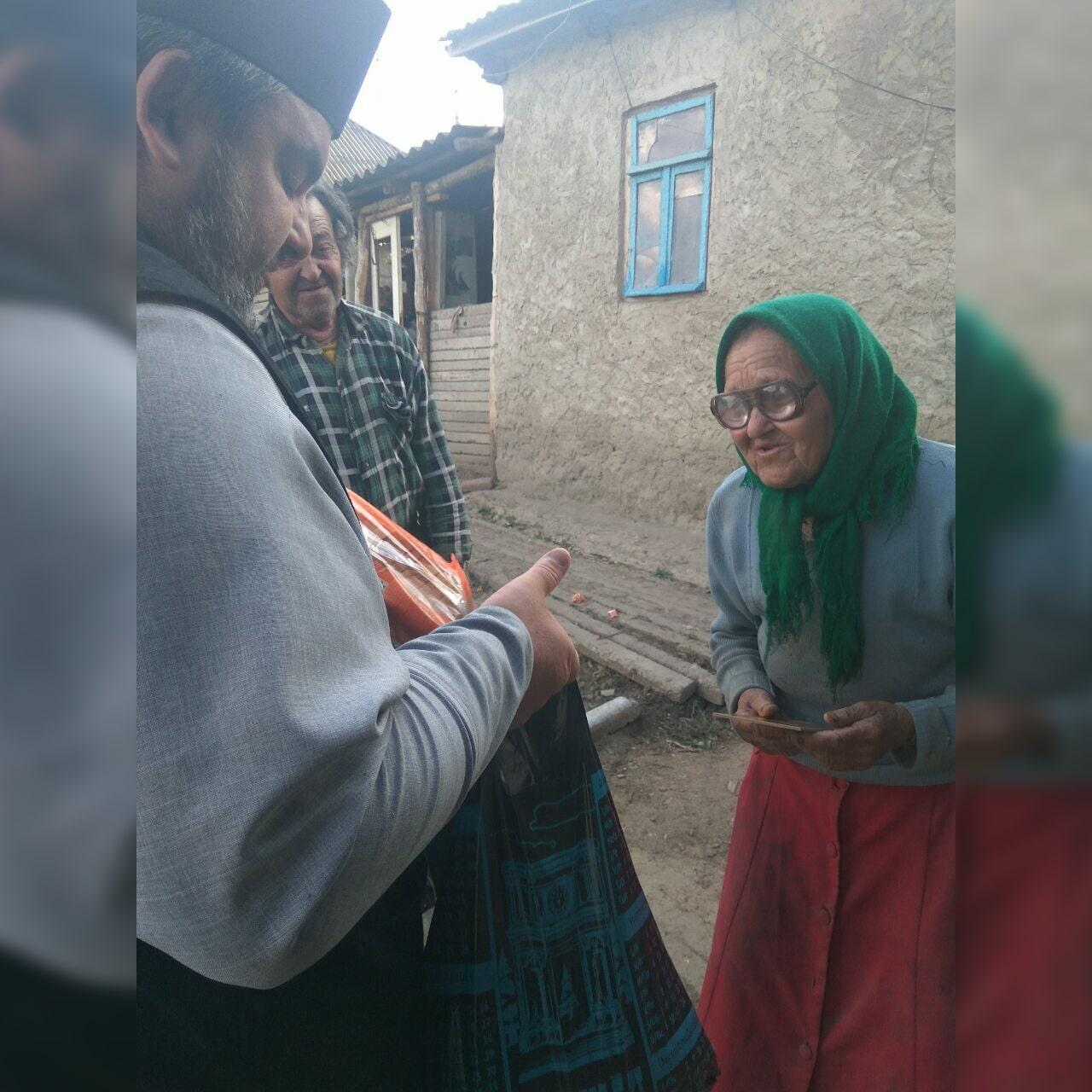 В селе Будэй прошла благотворительная акция «Пасхальная радость»