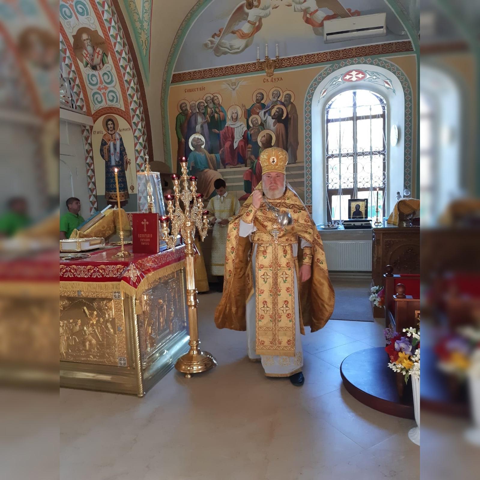 (ФОТО) Храм с. Баурчи отметил престольный праздник