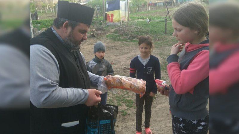 (ФОТО) В селе Будэй прошла благотворительная акция «Пасхальная радость»