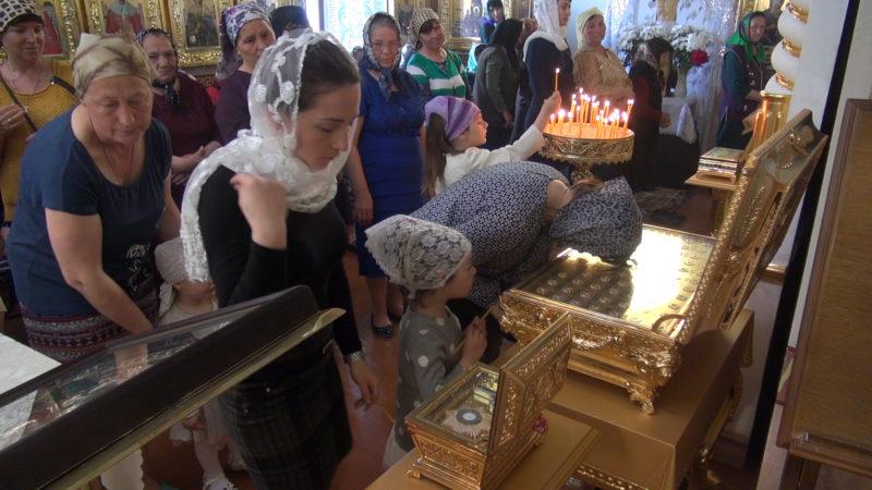 Частица пояса Пресвятой Богородицы и частица Животворящего Креста будут находиться в храме Авдармы до 26 мая