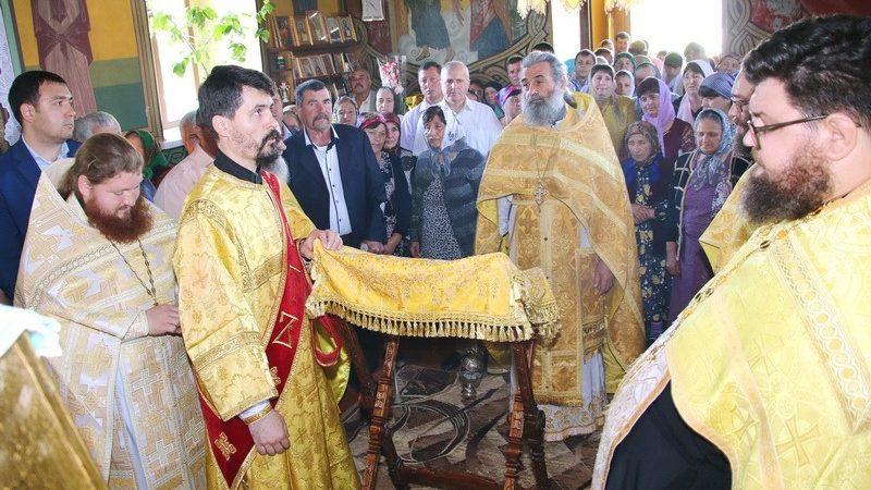 (ФОТО/ВИДЕО) В Кириет-Лунге отметили престольный праздник