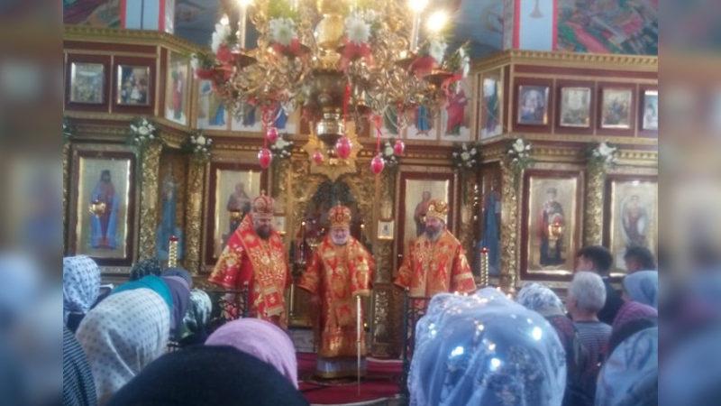 Литургия в монастыре мун. Чадыр-Лунга по случаю Тезоименитства епископа Анатолия