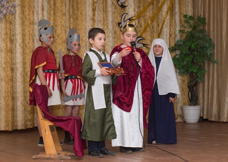 В лицее Копчак прошло праздничное представление на тему Пасхи