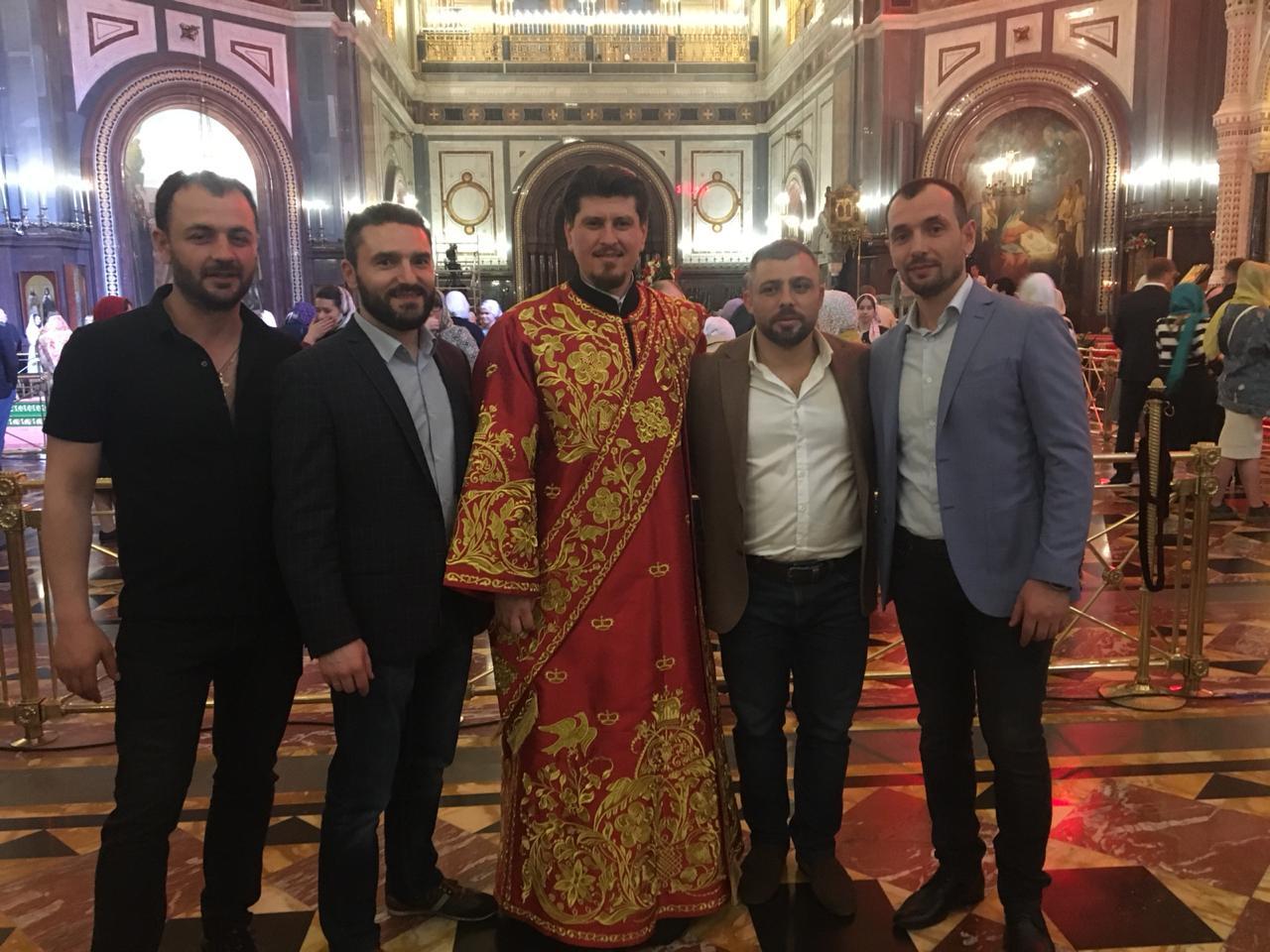 Уроженецы Гагаузии в пасхальную ночь молились в соборе РПЦ