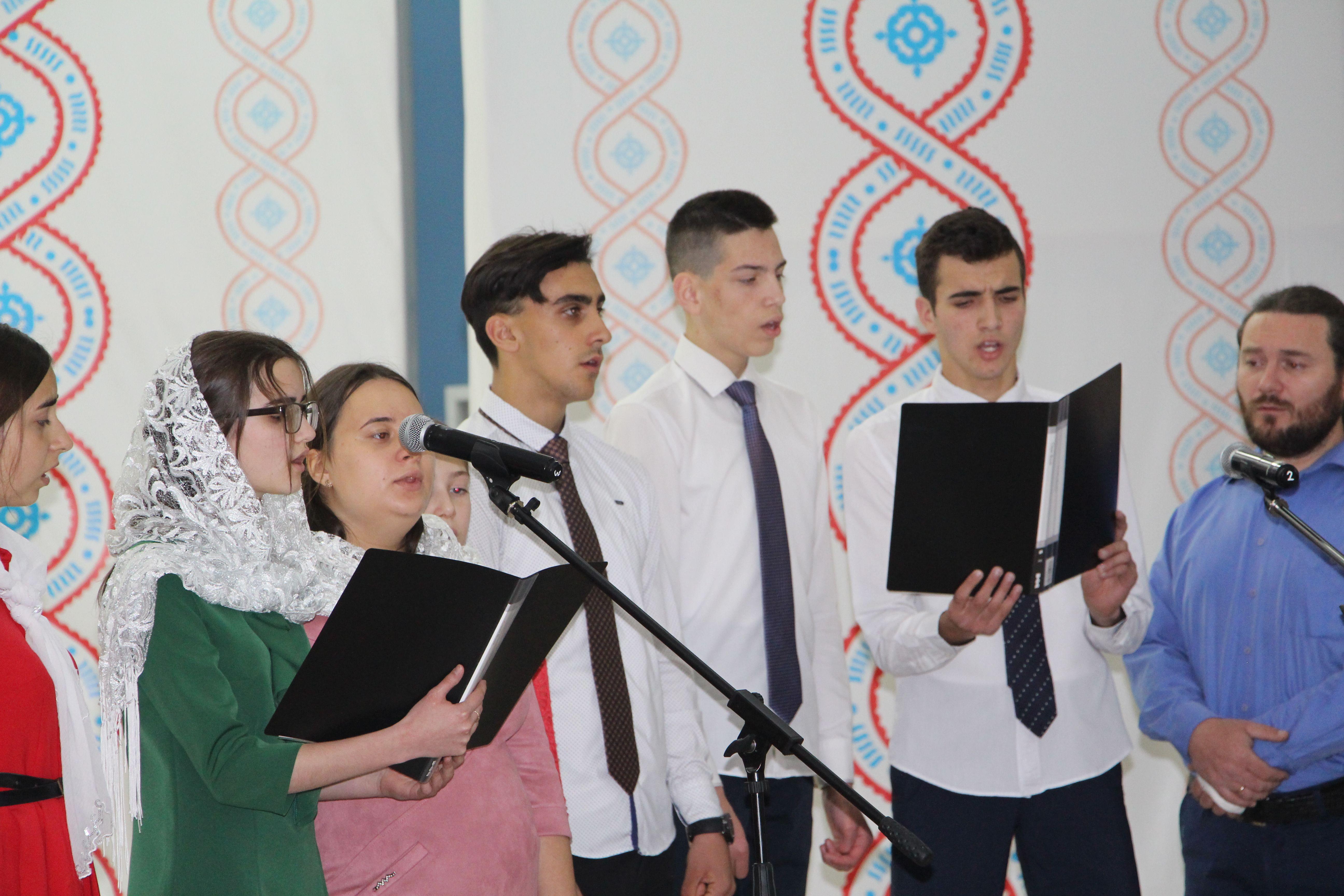 (ВИДЕО) Пасхальное поздравление воскресной школы храма Казанской иконы Божией Матери мун. Чадыр-Лунга