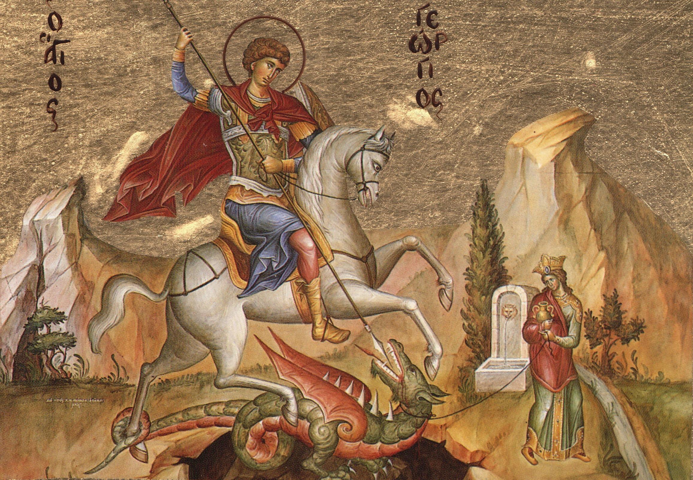 (ВИДЕО) Святой великомученик Георгий Победоносец – святой из Ливанских гор