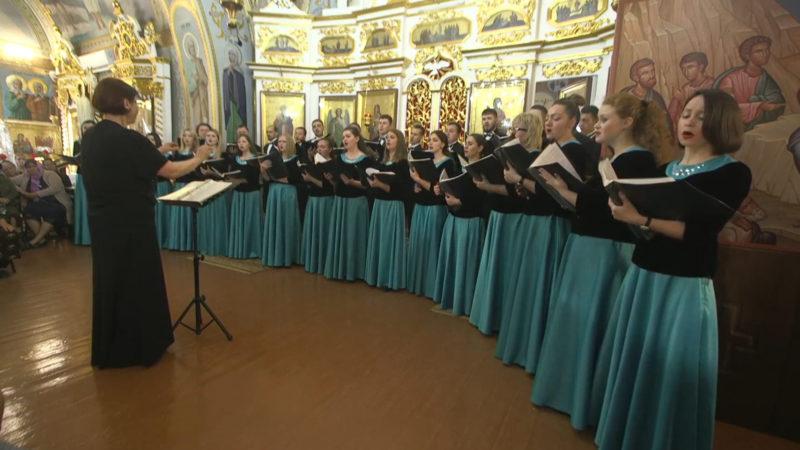 (LIVE) В храме с. Авдарма Приднестровский Государственный академический хор исполняет церковные песнопения