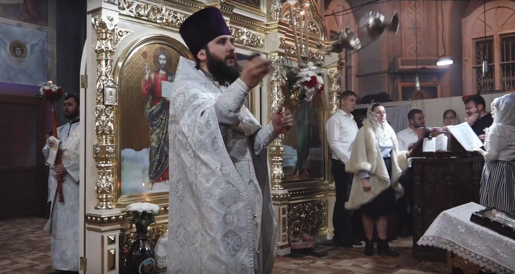 (ВИДЕО) Пасхальное богослужение в Кафедральном соборе мун. Комрат