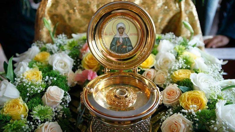 В мун. Комрат доставят мощи блаженной Матроны Московской